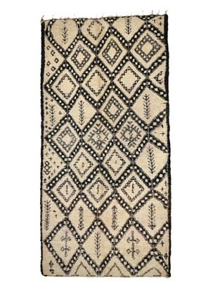-22,700% OFF Hotel Marrakeche One of a Kind Hand Knotted Moroccan Rug, Natural, 6' x 12' 8