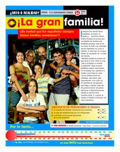 ¿Mito o realidad?: ¡La gran familia!