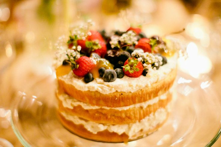 Victoria Sponge with Cream, Lemon Curd and Fresh Berries. Nona's Homemade Cakes xo  Photograph by Anna Kidman Photography.