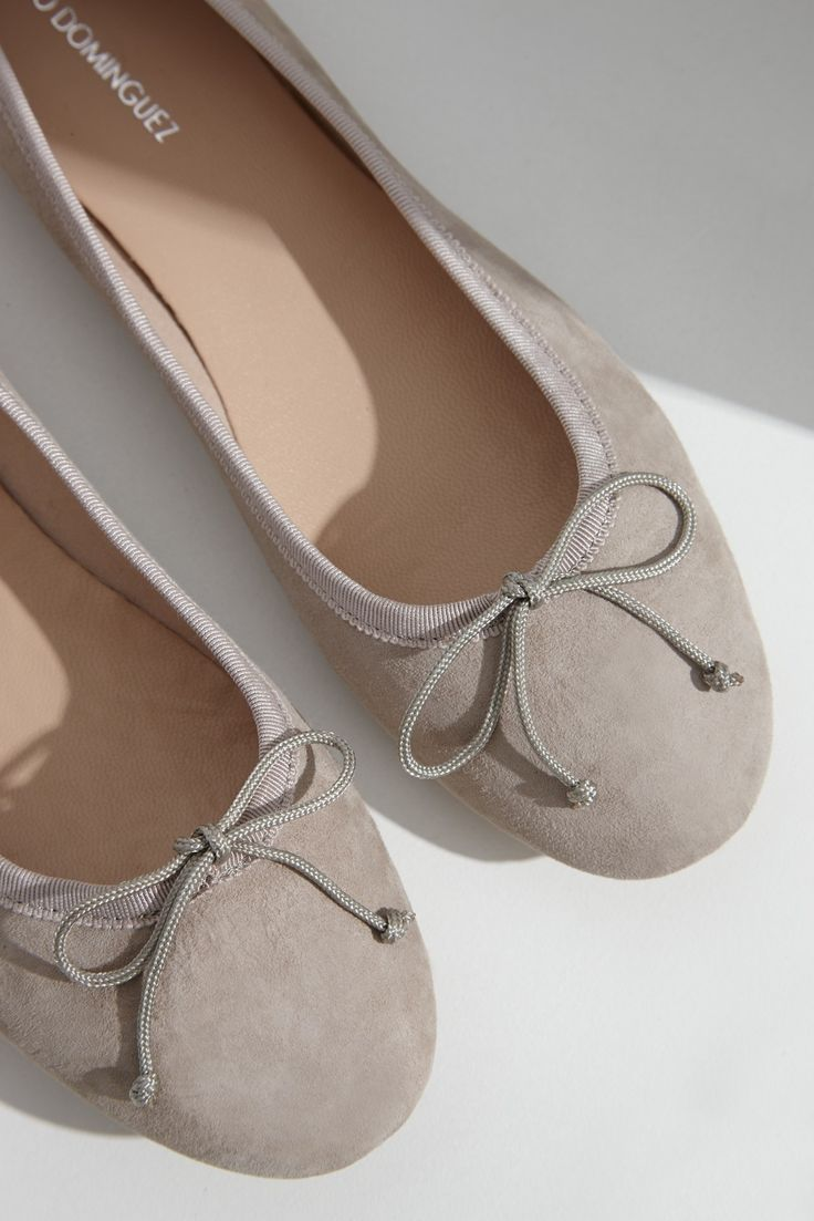Bailarina de ante | Adolfo Dominguez shop online