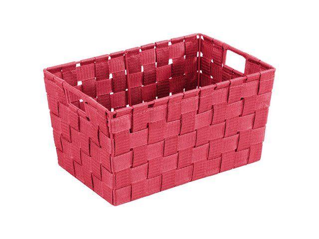 Cosul de depozitare dreptunghiular Adria poate fi utilizat atat in baia dumneavoastra pentru depozitarea cosmeticelor, in bucatarie pentru ustensile, cat si in camera dumnavoastra ca un cos decorativ
