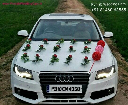 For Booking Luxury Car On Rent For Weddings Parti Audi A4 For