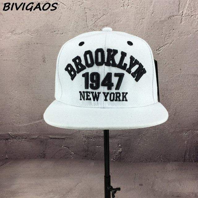 Black White Casual Gorras Snapbacks Skateboard Hats