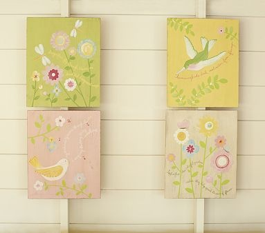 This would match Juliana's room decor perfectly! Good catch @Annie Huddleston: Wall Art, Little Girls, Kid Rooms, Art On Wood, Design Studios, Beautiful Pictures, Girls Rooms, Crafts Wal Art, Kids Rooms