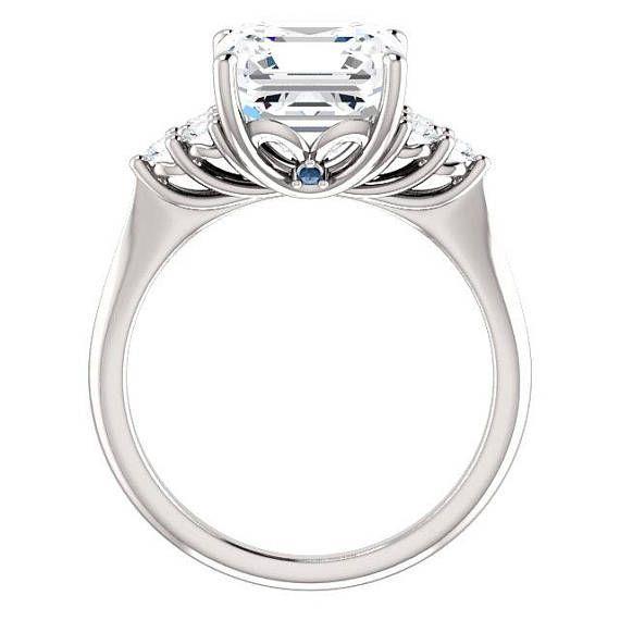 Stunning 3 carat moissanite engagement ring.  #ring #diamonds #rings #fashionjewelry #jewelrygram #engagementring #jewelrydesign #jewelryaddict #weddingrings #showmeyourrings #ringbling #weddingblog #weddingforward #heputaringonit #futurewife #isaidyes #gettingmarried #proposal #couplegoals #marryme #bridetobe #engagement #instawed #finejewelry #perfectproposal #wifetobe #bridesmaid #fiancee #ohsoperfectproposal #trekjewellers