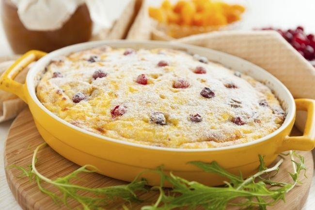 Сборник рецептов блюд из творога на завтрак