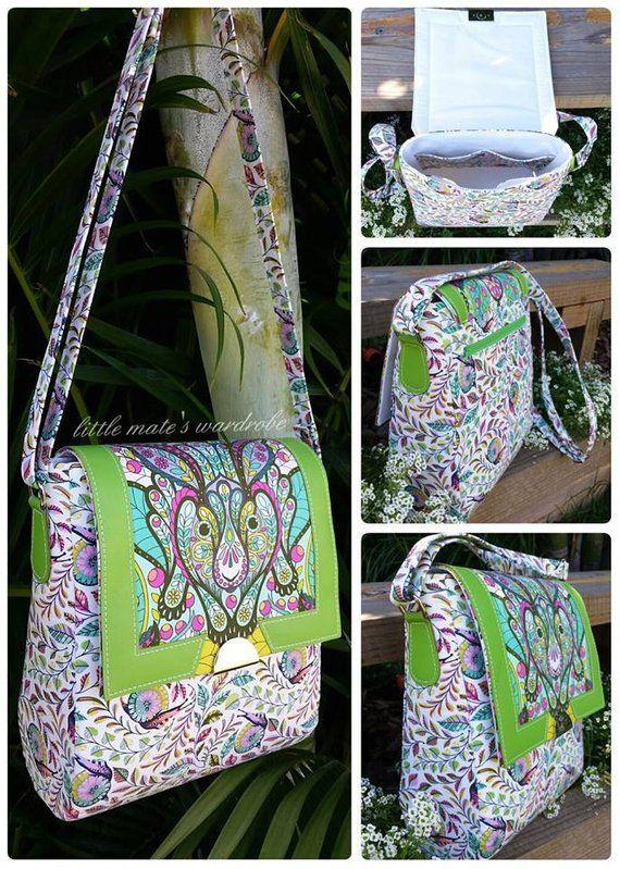 e9555e79fe Juno Sling Purse Crossbody Bag PDF Sewing Bag Pattern RLR