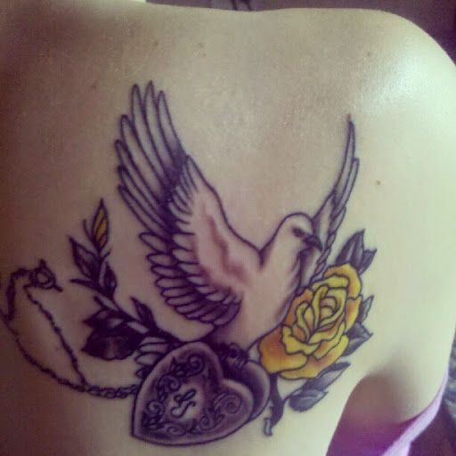11dff211a 50 Cute and Lovely Dove Tattoos For Men And Women | tattoo designs ...