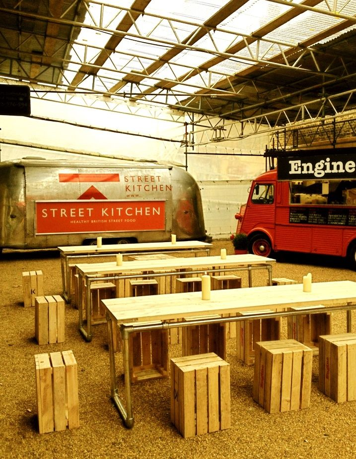 Un restaurante nómada, una buena idea. A traveling restaurant using a food truck~! Good idea! PopUp Republic
