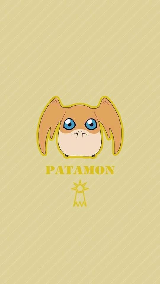 Patamon chibi.Esperança. Digimon Adventure Tri.