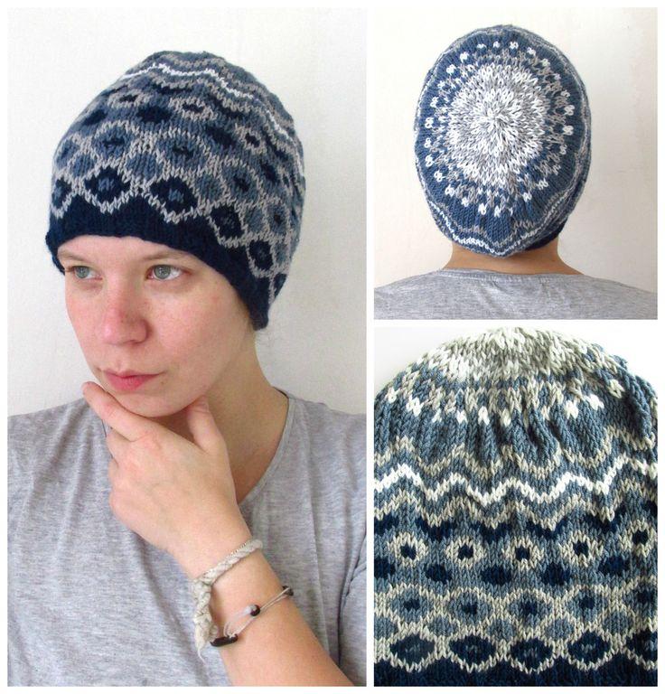 Fantasy hat in blue
