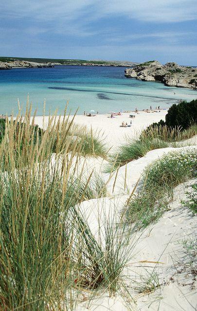 Playa de Son Parc. Menorca  Spain
