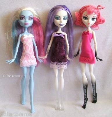 * DRESS TRIO #17 * for Monster High dolls. $15.00 eBay