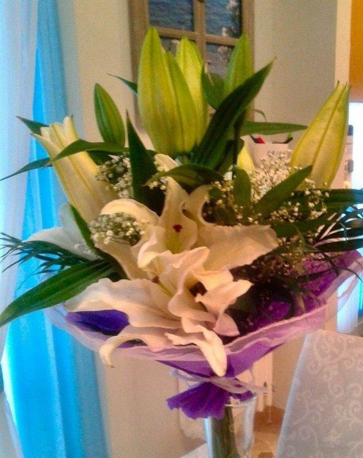 I #fiori che mi ha regalato mio marito per il nostro primo anniversario di nozze (20/04/2014) ♥ #flowers
