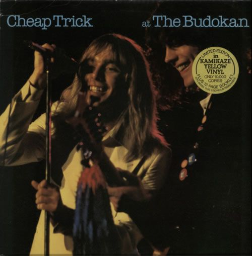 For Sale - Cheap Trick At The Budokan - Yellow Vinyl UK  vinyl LP album (LP record) - See this and 250,000 other rare & vintage vinyl records, singles, LPs & CDs at http://eil.com