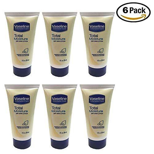 Vaseline Intensive Care Total Moisture Dry Skin Lotion 1 Fl Oz Pack Of 6 Https Skincare Boutiquecloset Co Skin Lotion Skin Care Cream Lotion For Dry Skin