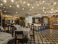 Jeffrey Beers | Villagio on the Park NYC | All these accoutrements blend in seamlessly with the gold leaf finishes on Duralight and the exclusive gold leaf craft work on the mirrors.