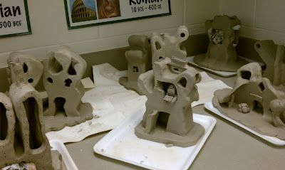 Art with Mrs. Withem: 7th Grade 3D- Seussical Houses