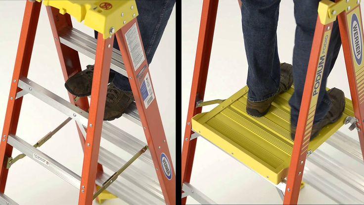 Werner Ladder - PD6200 Series Podium Ladder Features & Benefits