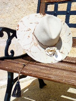 "Montana Dreamwear ""I'd Ride All Night to Dance With You"" Felt Hat"