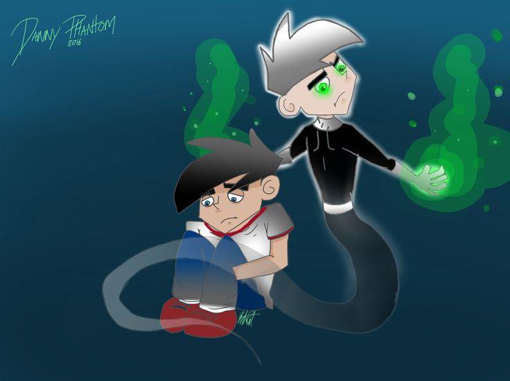 Figured cool new effects, hope you like my Danny phantom fanart :)