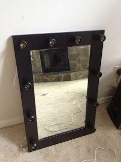 17 DIY Vanity Mirror Ideas to Make Your Room More BeautifulBest 25  Hollywood vanity mirror ideas on Pinterest   Hollywood  . Lighted Vanity Mirror Diy. Home Design Ideas