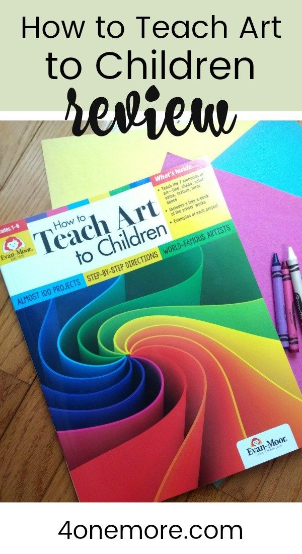 How to Teach Art to Children Evan-Moor Curriculum Review
