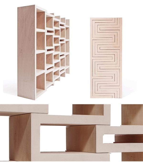 rek, design, kinderkamer, boekenkast