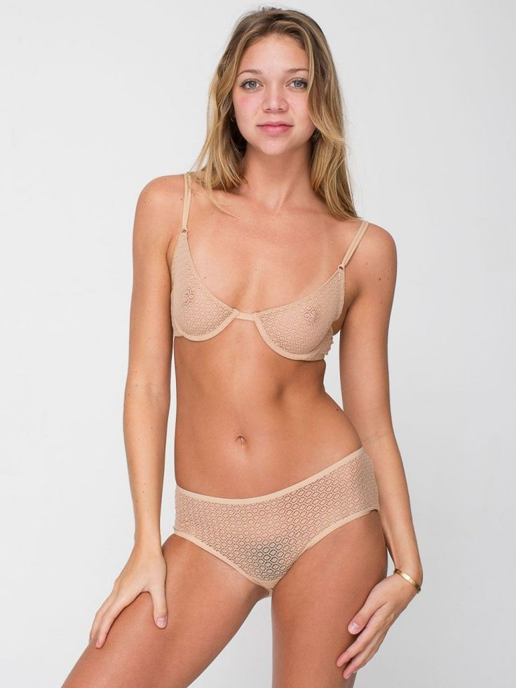 American Apparel Embraces Pubic Hair