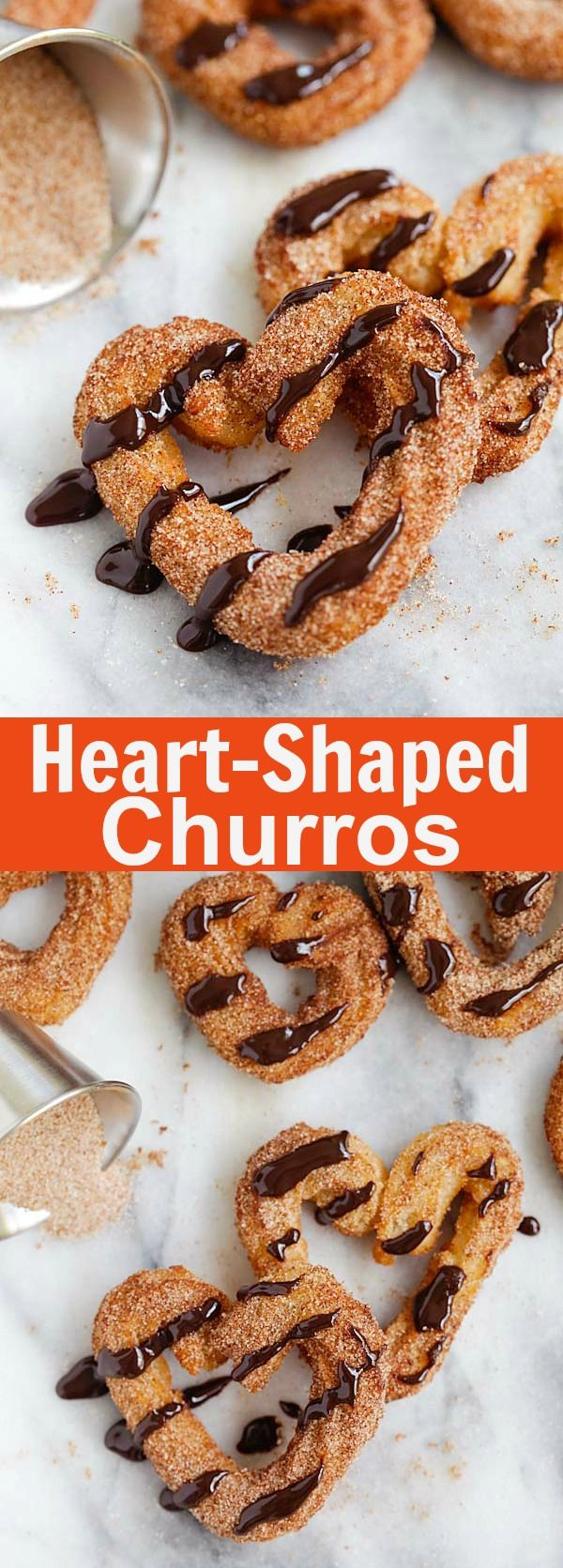 Heart-Shaped Cinnamon Rolls – the cutest and best cinnamon rolls ever, made into heart shape and stuffed with red cherries. So adorable   rasamalaysia.com