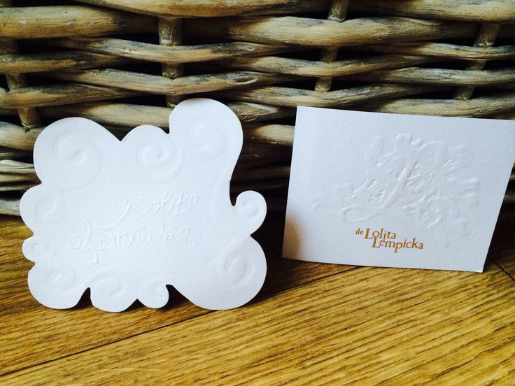 Cartes parfumées Lolita Lempicka