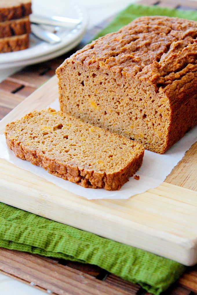 Paleo Cinnamon Spice Sweet Potato Bread | Sunny Side Ups