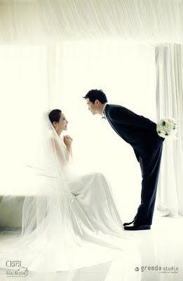 Korean Artist's Pre-Wedding Shoot