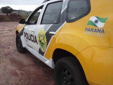 Polícia Militar aborda indivíduo praticando furto em Cafeeira na cidade de Moreira Sales