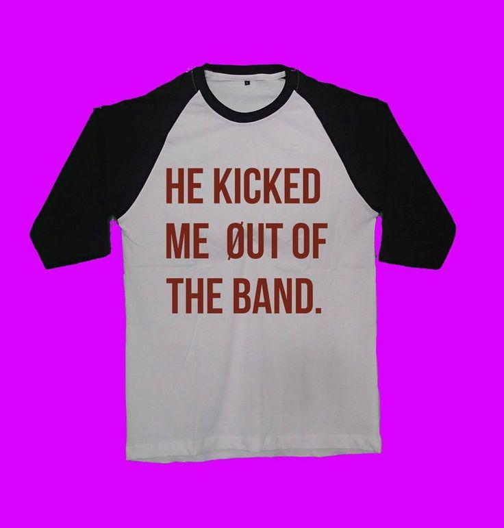 he kicked me out of the band shirt tyler joseph josh dun twenty one pilots tour…