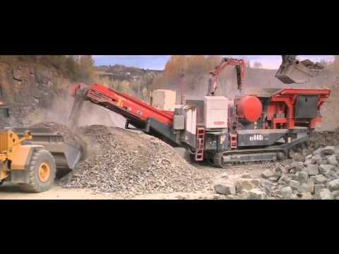 Sandvik UJ440i Mobile Jaw Crusher