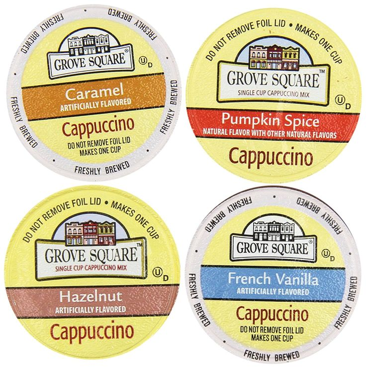 20-count K-cup for Keurig Brewers Coffee Variety Pack Featuring Grove Square Cappuccino ** A special product just for you. See it now! : K Cups