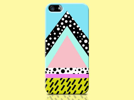 TRIANGLE iphone 5 case, tribal iphone cover, pyramid pattern, hipster iphone 5 case, 90's iphone 5 case, cool iphone 5 case, colorful case