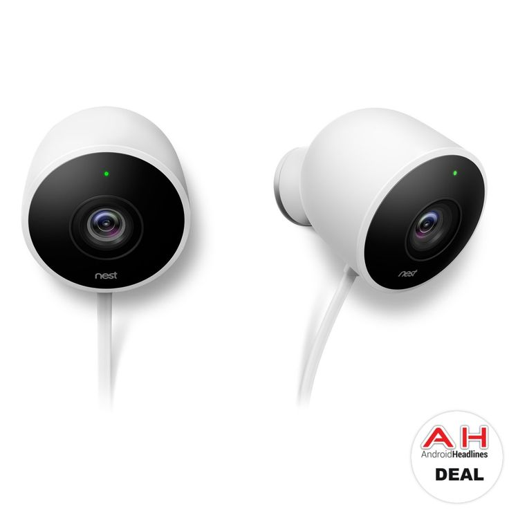 Deal: Nest Cam Outdoor Security Camera Two-Pack For $248.38 – 02/26/18 #Android #Google #news