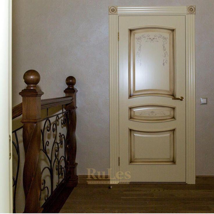 """Дверь """"Флоренция"""" #двери #межкомнатные #рулес #интерьер #дизайн"""