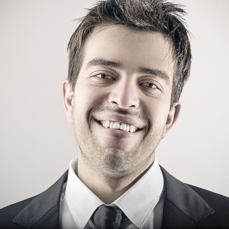 Portrait of happy smiling young business man by Gianluca D.Muscelli on 500px