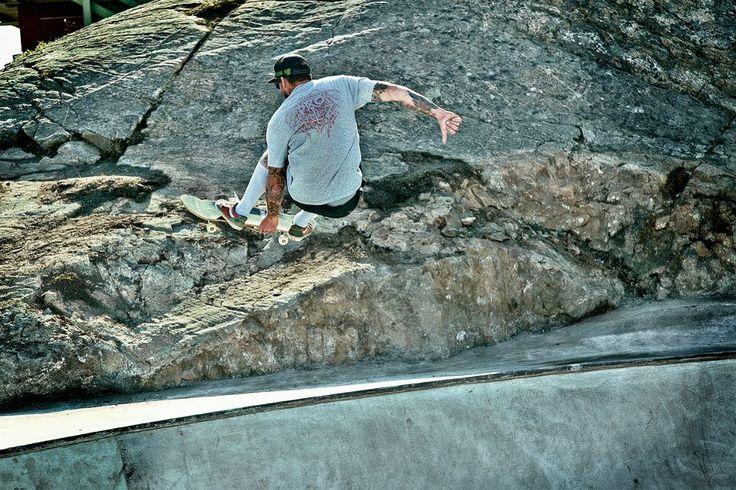 Trevor Moncaster, Sisimiut 2012 Foto: Steen Olsen