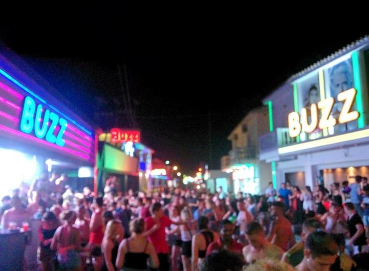 Kavos Corfu Greece at Night | Greece and Greek Islands ...