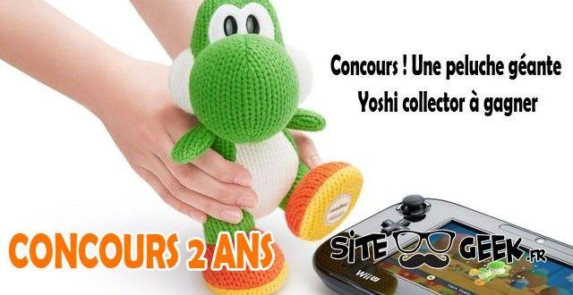Concours #1| Une peluche géante Yoshi collector à gagner