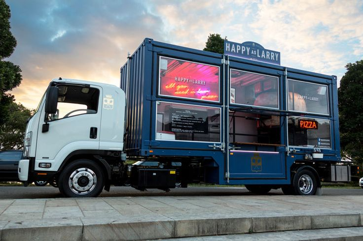 Shipping Container Food Trucks - This Company Sells Wood Oven Pizza from a Converted Truck (GALLERY)