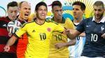 Brasil 2014: todos los datos de los cuartos de final de la Copa del Mundo. July 03, 2014