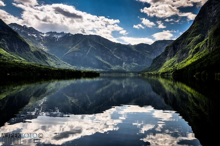 Slovenia,Bohinj Lake...