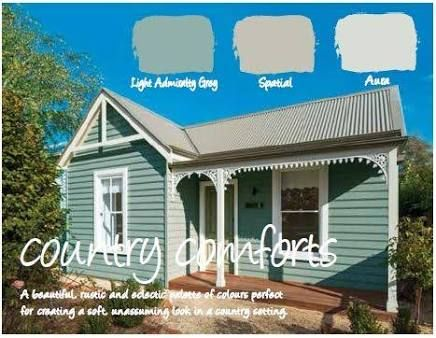 Image result for weatherboard exterior colour schemes windspray