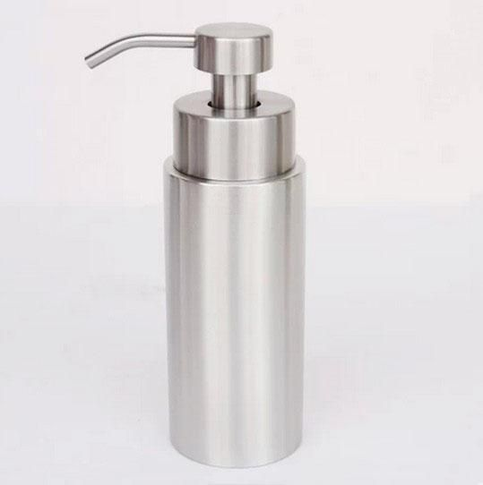 350ml Stainless Steel Soap Scrub Dispenser Empty Foam Hand