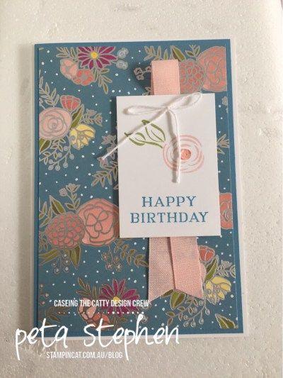 Stampin' Cat CTC164 Perennial Birthday Sweet Soiree